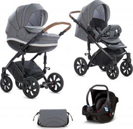 TUTIS Πολυκαρότσι  Mimi Style 3in1 Neo Grey 333 SO137