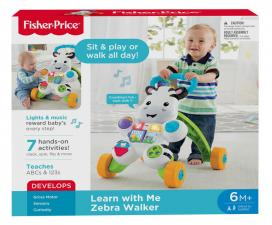 Fisher Price - Zebra Walker DLD80