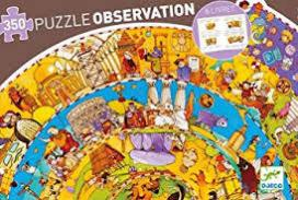 History Observation Puzzle 350κομ.DJECO DJ07470