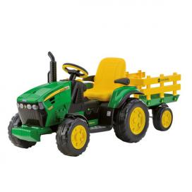 Peg Perego JOHN DEERE GROUND FORCE with TRAILER OR0047