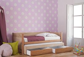 Παιδικός καναπές κρεβάτι KING φυσικό οξιά 580200
